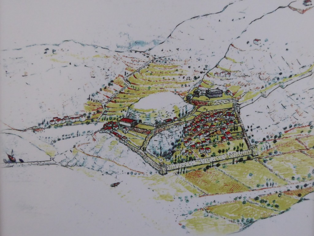 Karthaia in the 3rd century BC. Graphic rendition and copyright by by Al. Papanikolaou
