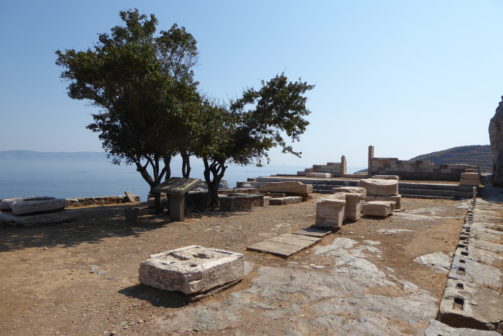 The approach to the Temple of Apollo