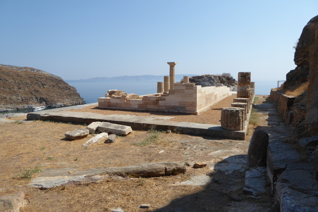 The Temple of Athena in the Acropolis