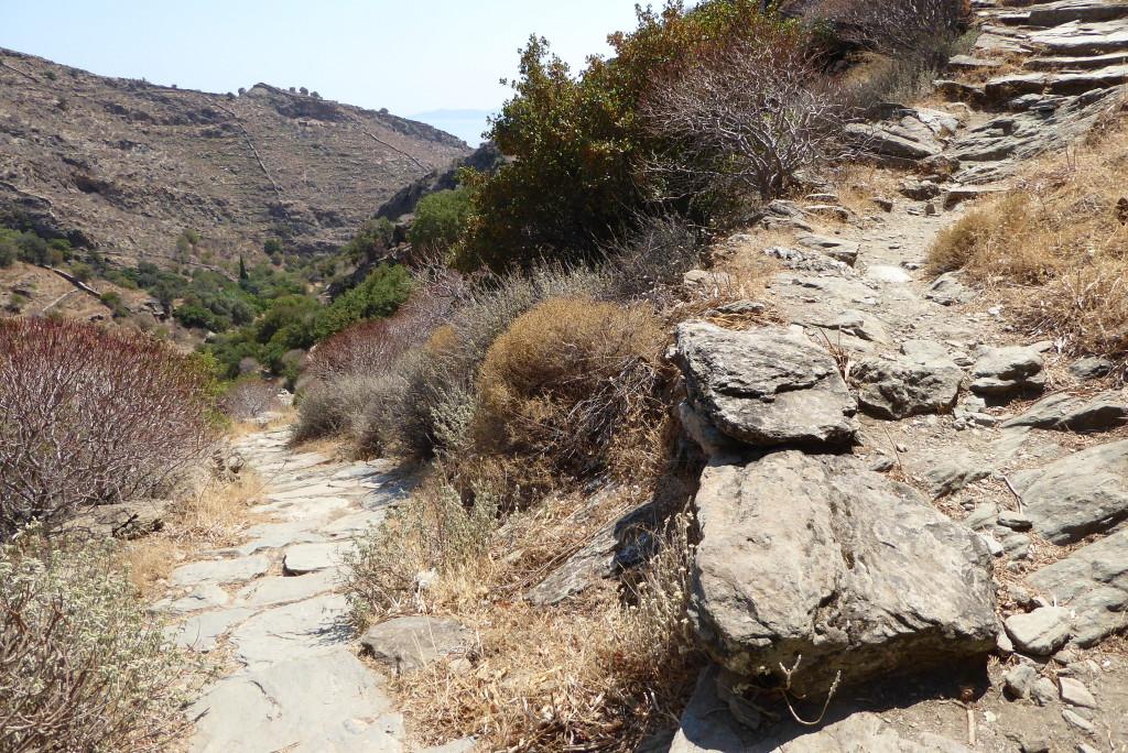 An ancient path in Kea