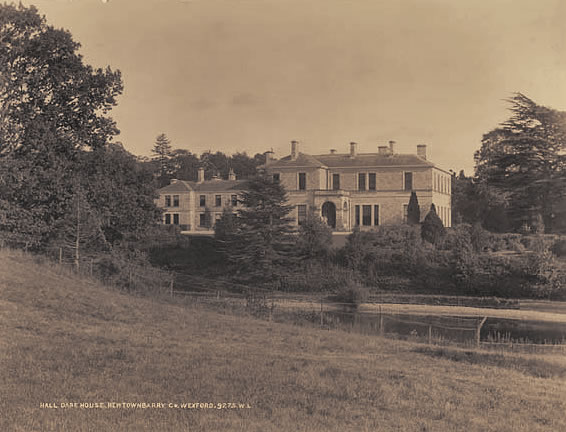 Newtownbarry House in the early 1900s